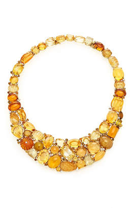 Moira Fine Jewellery Citrine And Tourmaline Necklace