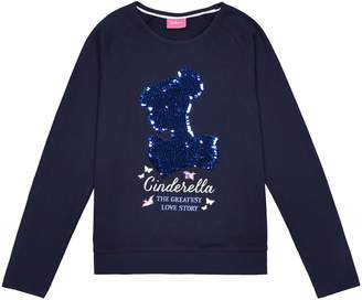 fde54d0632ab Disney Princess Reversible Sequin T-Shirt, 5-10 Years