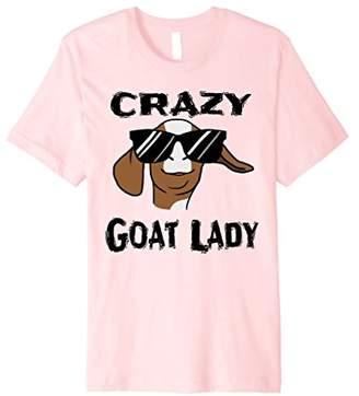 Goat Shirt For Women - Crazy Goat Lady T Shirt