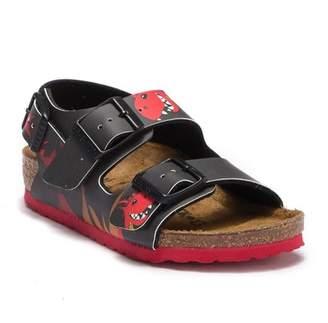 Birkenstock Milano Fire Dragon Ankle Strap Sandal - Discontinued (Toddler & Little Kid)