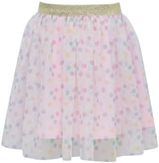 M&Co Spot print mesh tutu skirt