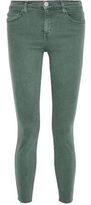Current/Elliott The High Waisted Stiletto High-Rise Skinny Jeans
