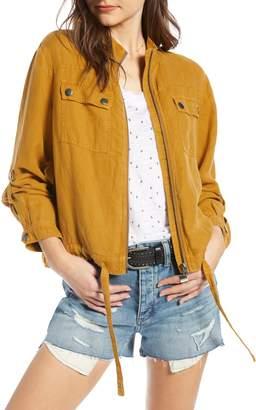 Treasure & Bond Linen Blend Field Jacket