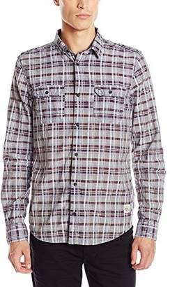 Buffalo David Bitton Men's Sitroll Long Sleeve Fashion Wiven Shirt