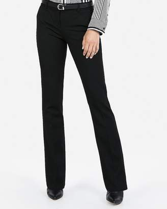 Express Petite Mid Rise Columnist Barely Boot Pant