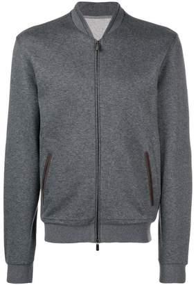 Ermenegildo Zegna front zipped jacket