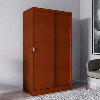 Hudson Home Source Industries Home Source Mahogany Wardrobe with Sliding Doors