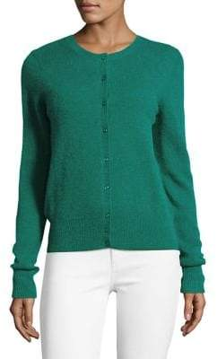 Lord & Taylor Buttoned Cashmere Cardigan
