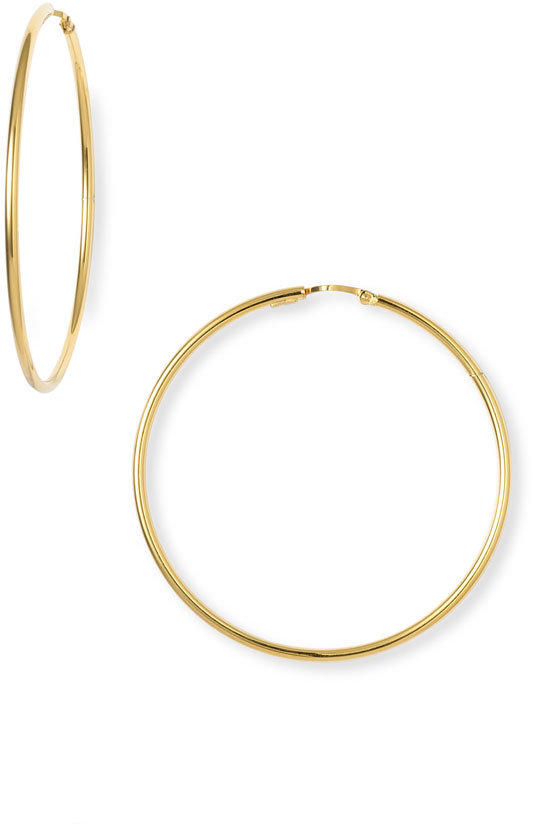 Charles Garnier 'Perfect Hoop' 50mm Earrings