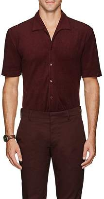 P. Johnson Men's Cotton Terry Short Sleeve Shirt