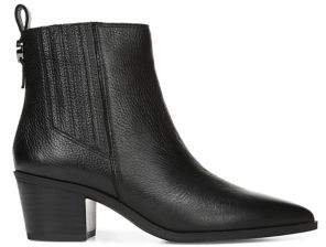 Franco Sarto Shay Heeled Leather or Suede Booties