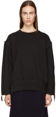 3.1 Phillip Lim Black French Terry Sweatshirt