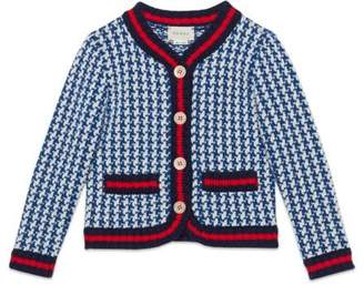 "Gucci Children's ""Guccy Wishify"" wool jacket"