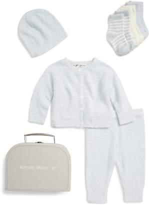 Barefoot Dreams R) CozyChic(R) Lite Classic Cardigan, Pants, Socks, Beanie & Suitcase Set