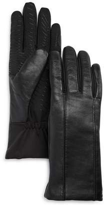 URBAN RESEARCH U/R Flex Seam Faux Fur-Lined Tech Gloves