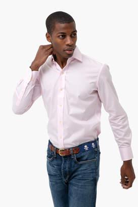 Gents Ledbury The Pale Pink Gingham Poplin Shirt