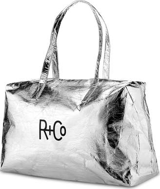 R+CO Rco Silver Duffle Bag V2