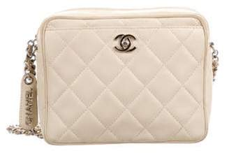Chanel Mini Camera Bag silver Mini Camera Bag