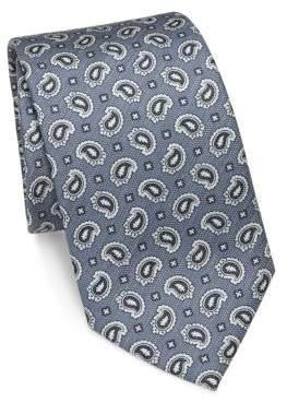 BrioniBrioni Paisley Patterned Silk Tie
