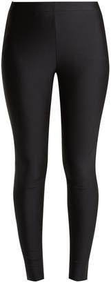 Gucci Side-stripe logo-jacquard jersey leggings