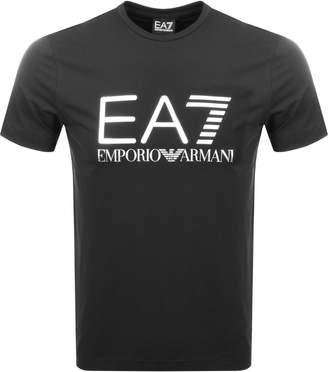 Emporio Armani EA7 Crew Neck T Shirt Black