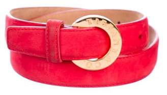 Tiffany & Co. Suede Waist Belt