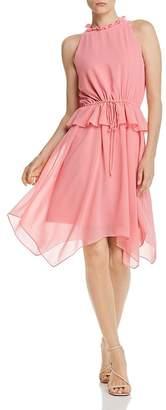 Sam Edelman Ruffled Handkerchief Dress