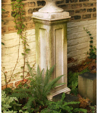 Orlandi Statuary OrlandiStatuary Panel Plant Pedestal Stand