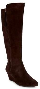 Anne Klein Alanna Suede Tall Boots