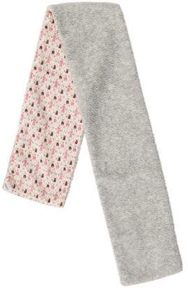 Makie Girls' Textured Patterned Scarf