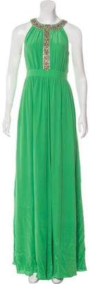 Tibi Embellished Maxi Dress w/ Tags