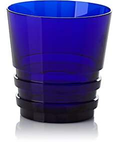 Saint Louis Saint-Louis Oxymore Crystal Tumbler - Dark Blue