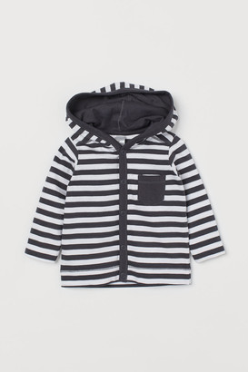 H&M Jersey hooded cardigan
