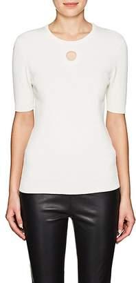 Lisa Perry Women's Circular Cutout Sweater
