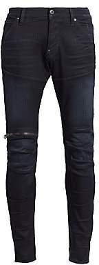 G Star Men's 5620 3D Zip Knee Slim Fit Jeans