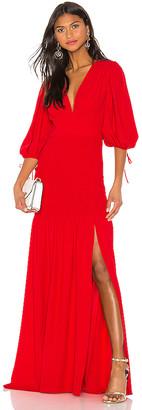 Amanda Uprichard Gala Maxi Dress