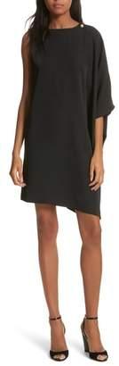 Ted Baker Oversize Drape Front Dress