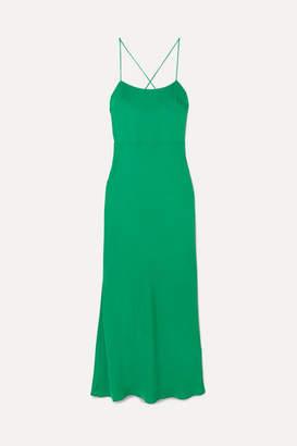 Jason Wu GREY Cutout Twill Maxi Dress - Green