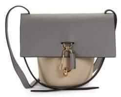 Zac Posen Mini Belay Leather Bucket Bag