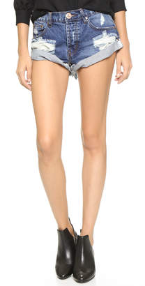 One Teaspoon Bad Seed Bandits Shorts $109 thestylecure.com