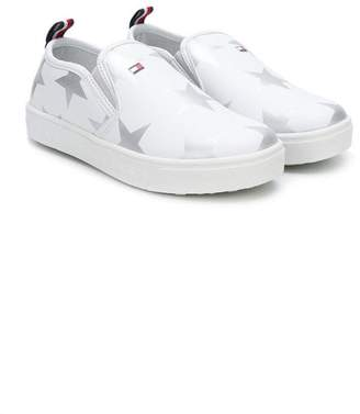 Tommy Hilfiger Junior slip-on printed sneakers