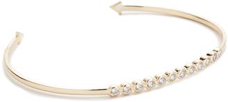 Shashi Bezel Cuff Bracelet $69 thestylecure.com