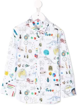 Paul Smith science book print shirt