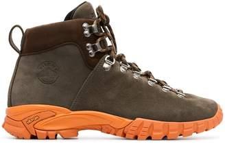 Diemme khaki Maser Hiker suede walking boots