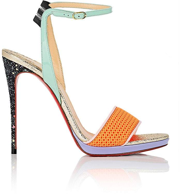 Christian Louboutin Women's Discoport Ankle-Strap Sandals