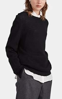 Jil Sander Women's Wool Boyfriend Sweater - Black