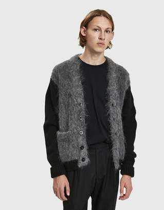 Maison Margiela Brushed Knit Cardigan