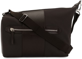 Cerruti contrast panel shoulder bag