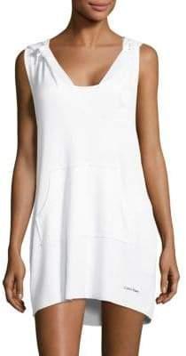 Calvin Klein Hooded Swim Dress