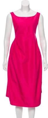 Rochas Sleeveless Midi Dress w/ Tags
